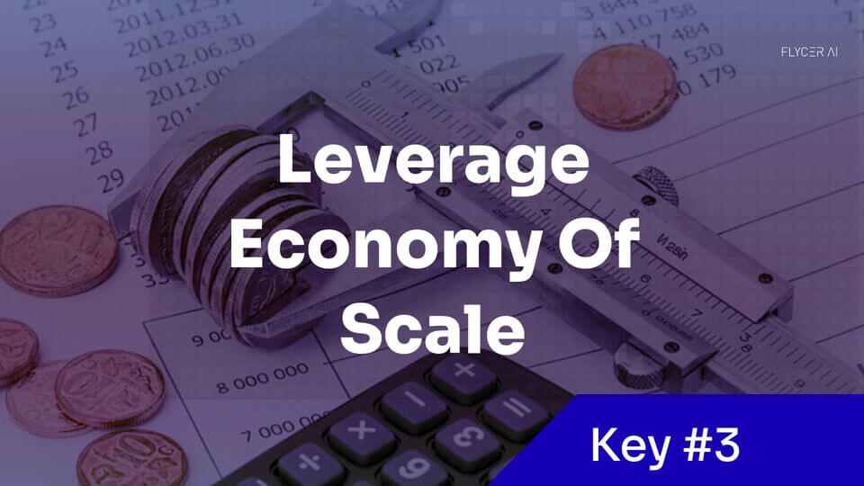Leverage an economy of scale in your AI project